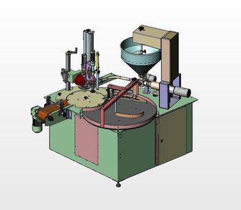 ECODOCAP pneumatic combination machine