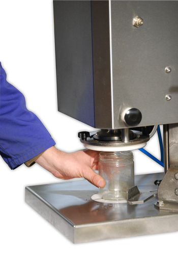 Semi-automatic Twist-off capping machine ECOCAP