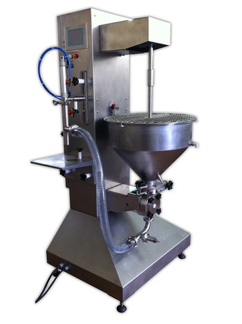 Semi-automatic lobe dosing machine