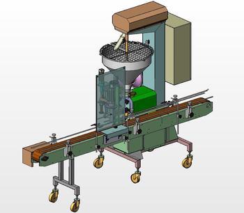 Automatic lobe dosing machine
