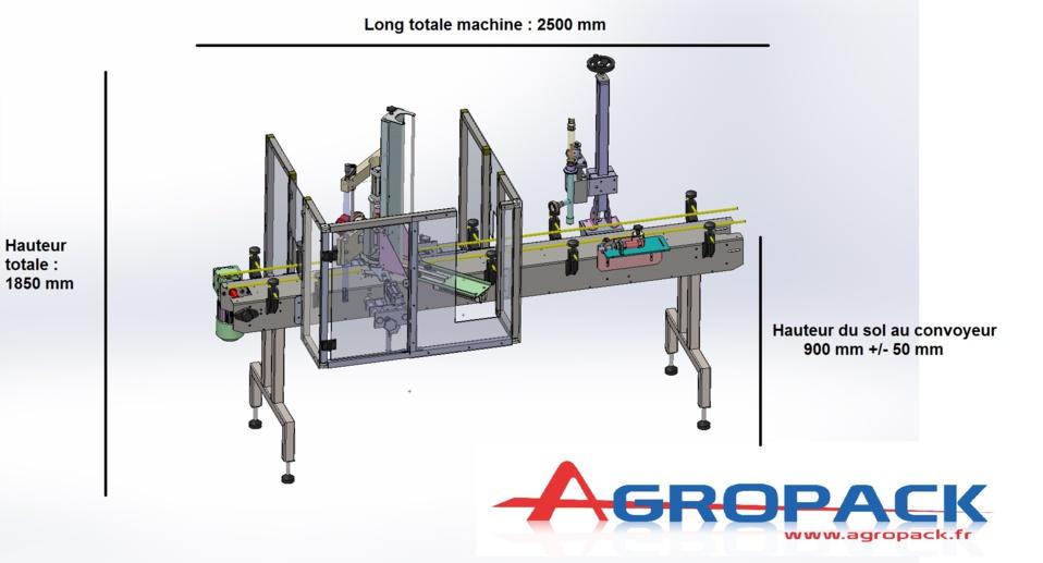 Capsuleuse automatique avec chargeur semi-automatique de capsules